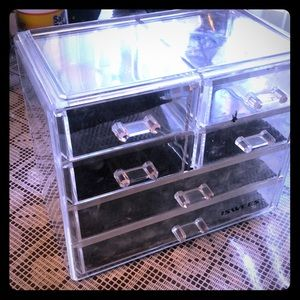 Other - 6 compartment make up vanity storage